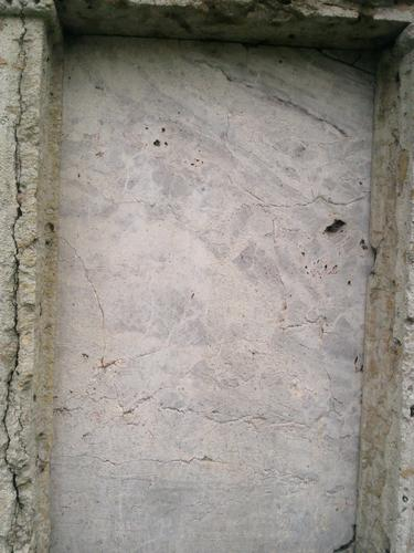 Трещины на розовом мраморе. Май 2010 г.