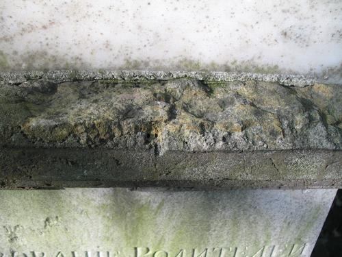 Разрушение, отслаивание и потеря фрагментов путиловского известняка