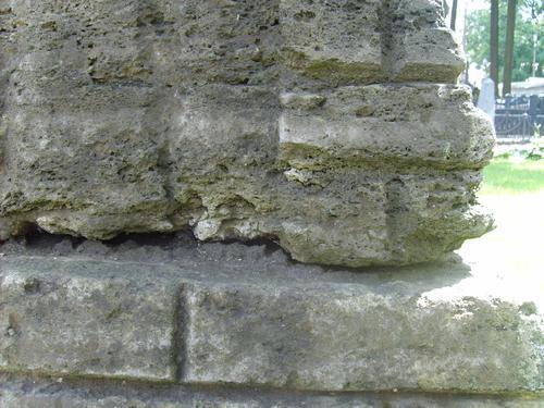 Структура типа костной ткани ( следы альвеолярного выветривания). атмосферные грязевые отложения.