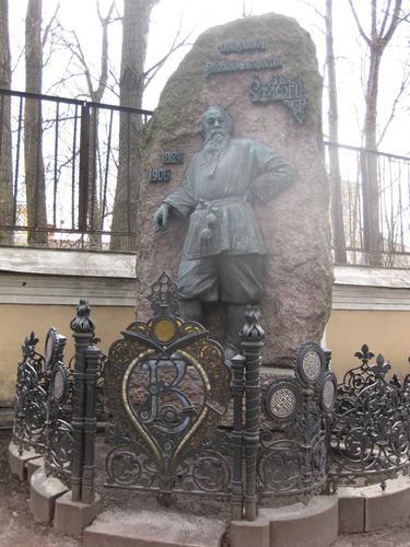 Общий вид памятника (северо-восточная сторона)