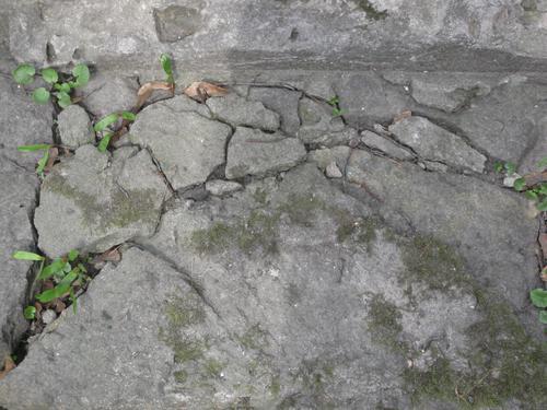 Разрушенное основание (южная сторона)