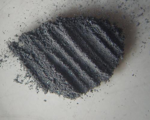 3. Однородное тонкодисперсное черное вещество.