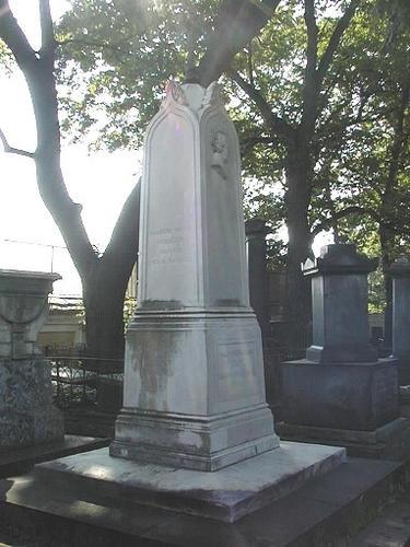 Общий вид памятника. Северная сторона.