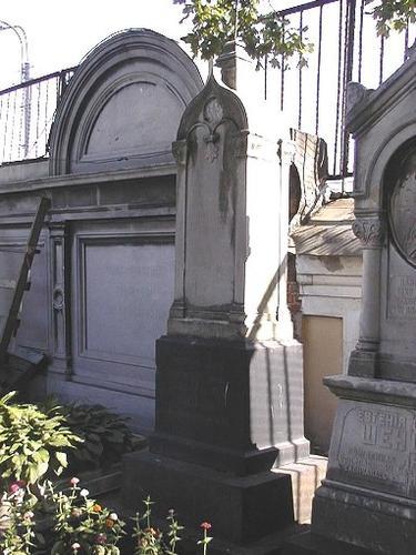 Надгробие Шеншина Н.В. Общий вид.