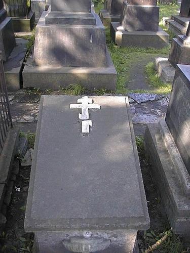 Неизвестное надгробие. Общий вид.