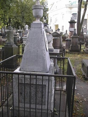 Общий вид памятника. Восточная сторона.