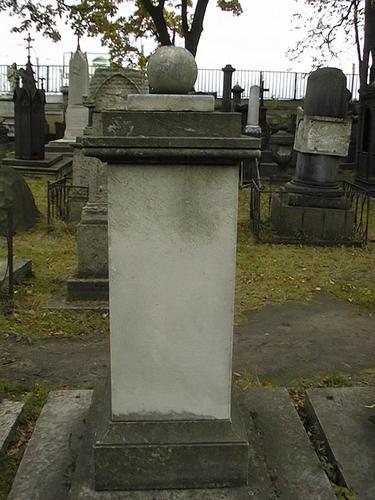 Общий вид памятника. (Западная сторона).