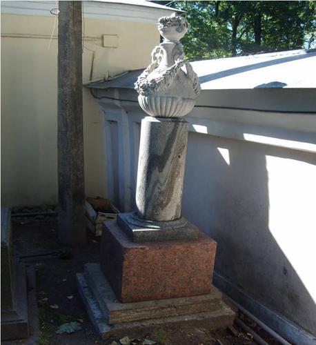Внешний вид памятника с северо - восточной стороны.
