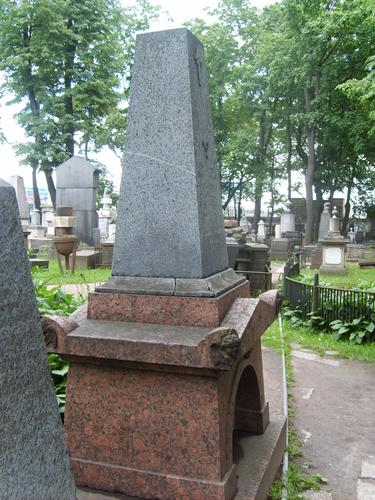 Внешний вид памятника с западной стороны